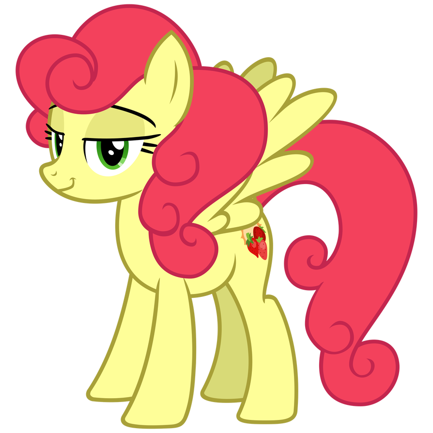 Mlp sunrise png. Strawberry by cheezedoodle on