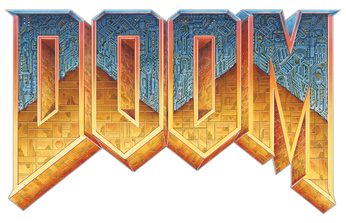 Paul pinterest video games. Doom 2016 logo png image royalty free download