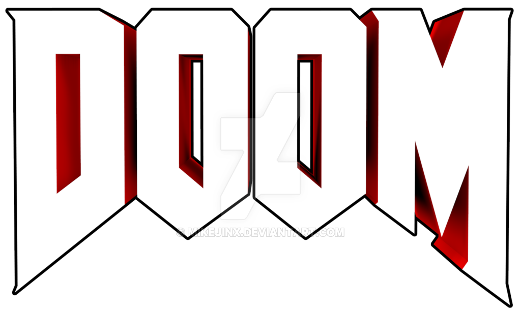 By mikejinx on deviantart. Doom 2016 logo png svg freeuse library