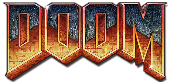 Radio press gaming. Doom 2016 logo png png