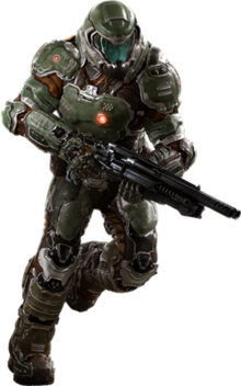 Doomguy wikipedia. Doom 2016 png svg freeuse stock