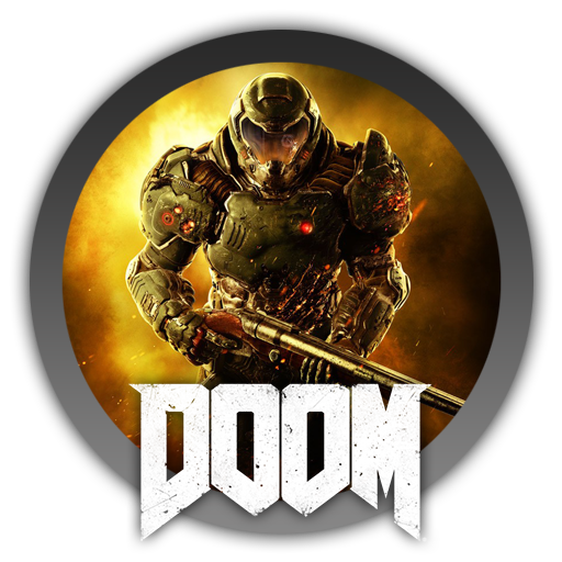 Download free icon by. Doom 2016 logo png picture stock