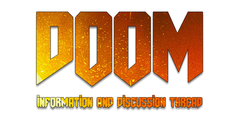 Official information and discussion. Doom 2016 logo png image transparent