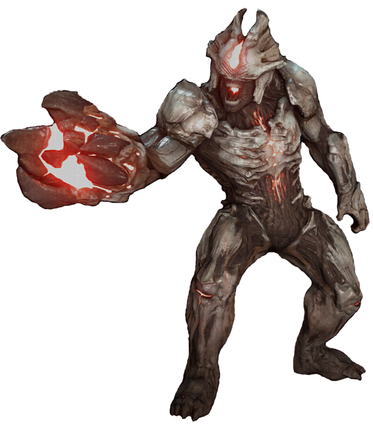Doom Drawing Monster Transparent Png Clipart Free Download Ya