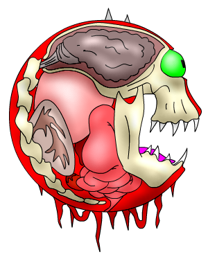 Doom drawing cacodemon. Monsters how do the