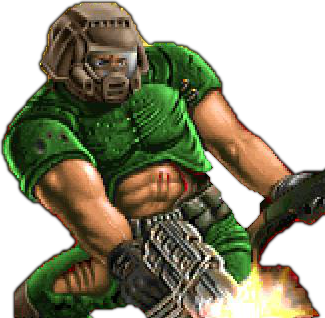 Doom drawing space marine. Why doomguy from is