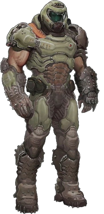 Doom drawing space marine. Characters tv tropes the