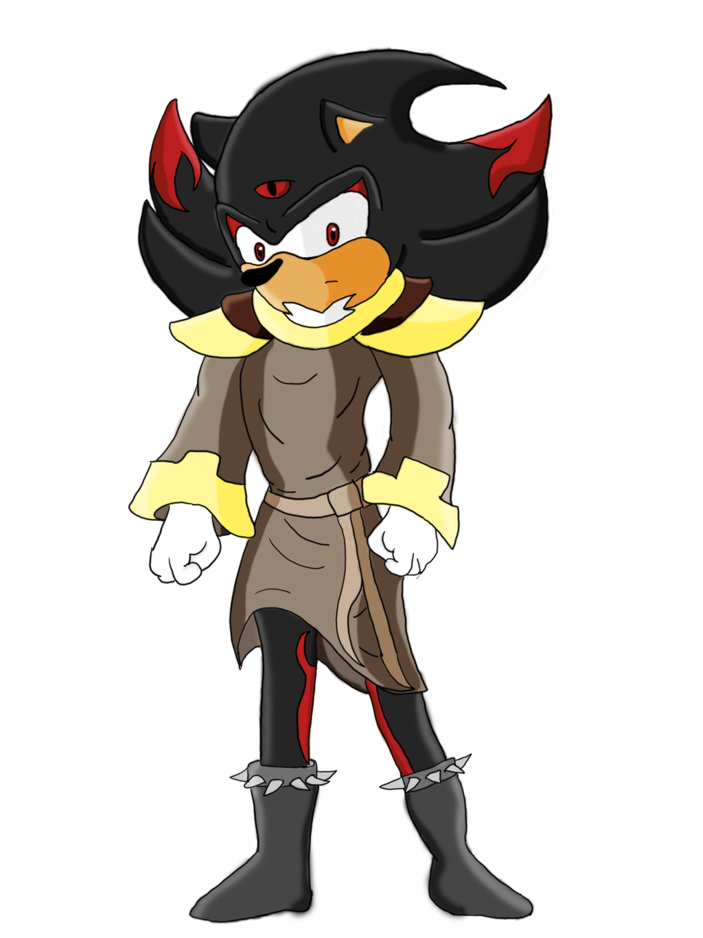 Doom drawing drill instructor. Black the hedgehog by