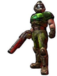 Doom drawing space marine. Is any silent protagonist