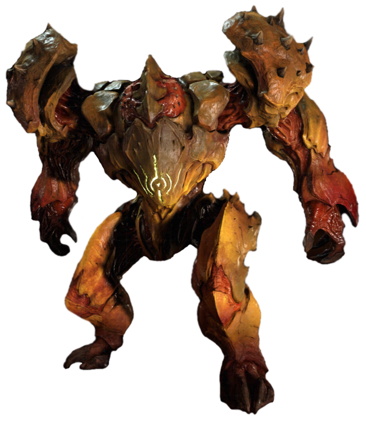 Doom imp death gif png files. Hell guard video games