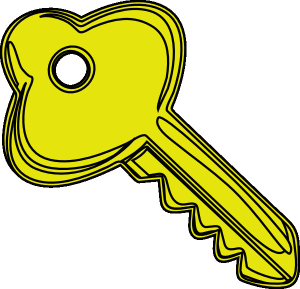 Keys clipart door key. Kid clipartix bright of
