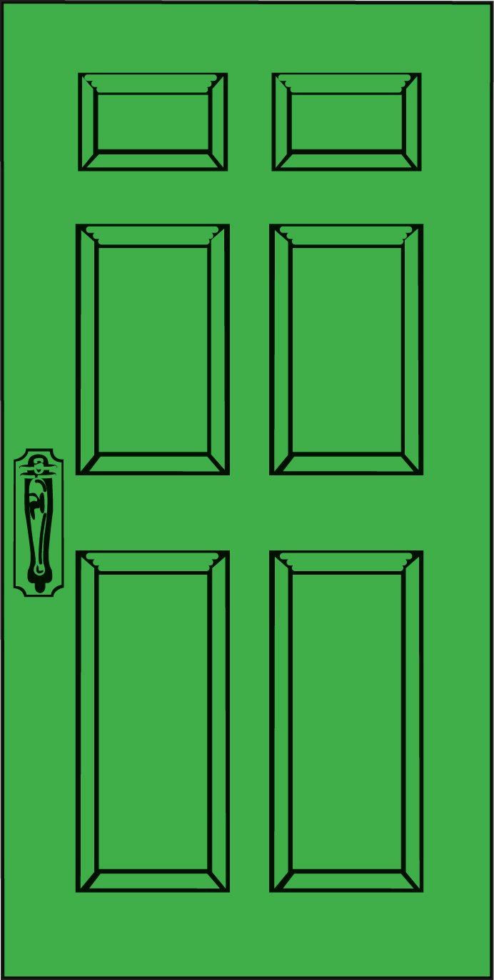 door clipart rectangle object