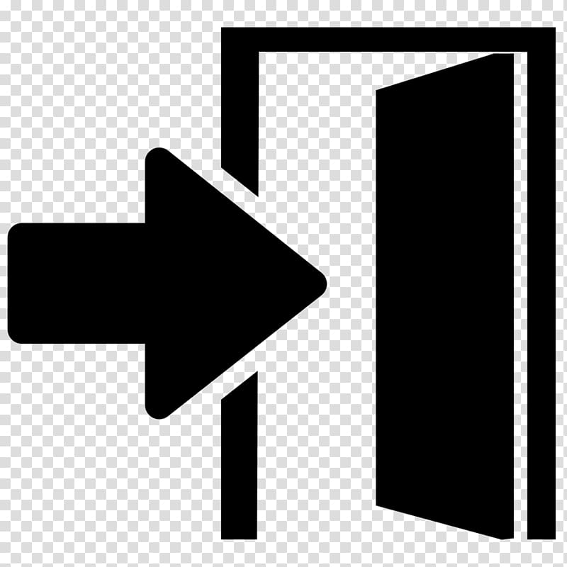 Door exit. Open illustration computer icons