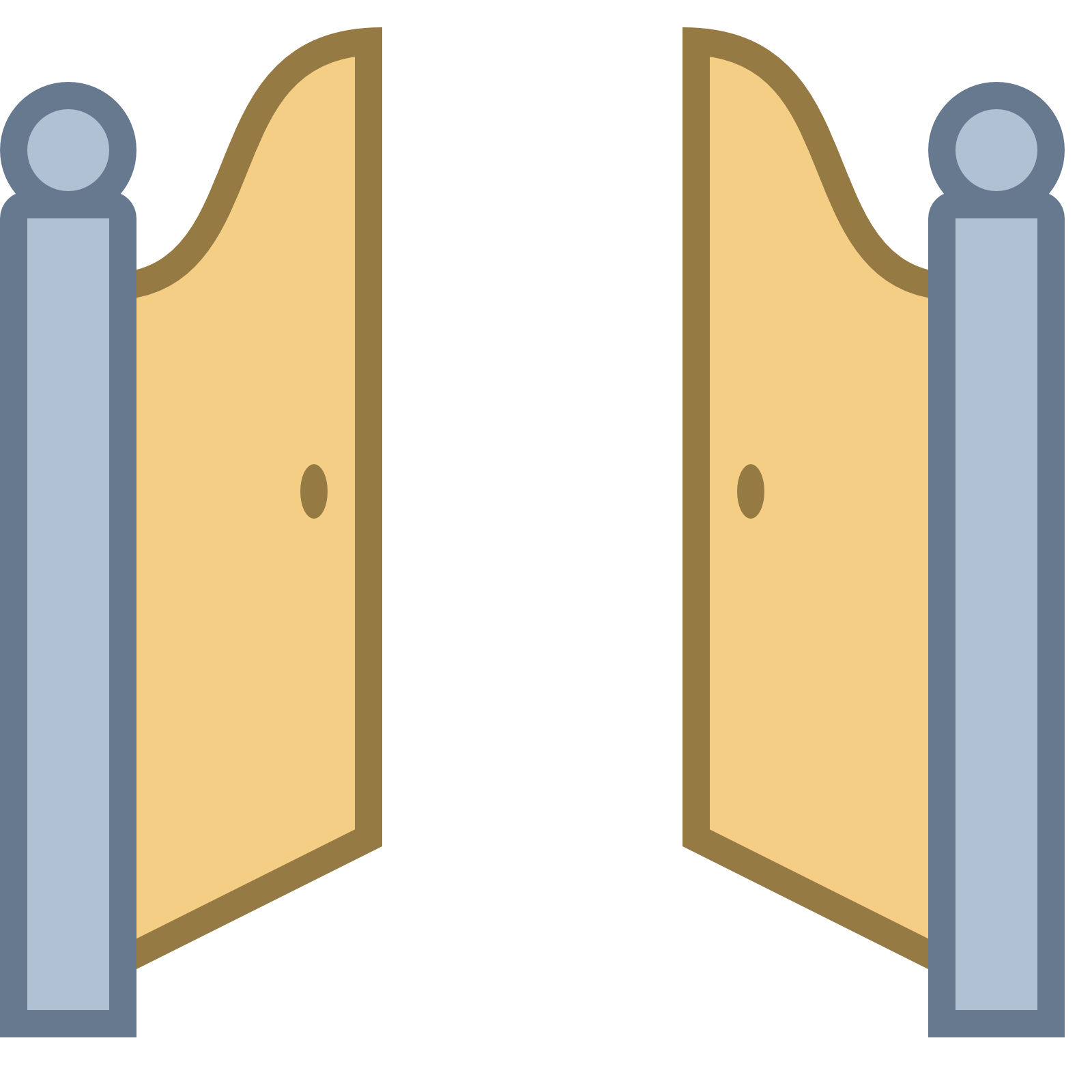 Drawing doors front door. Open gate png transparent graphic black and white stock
