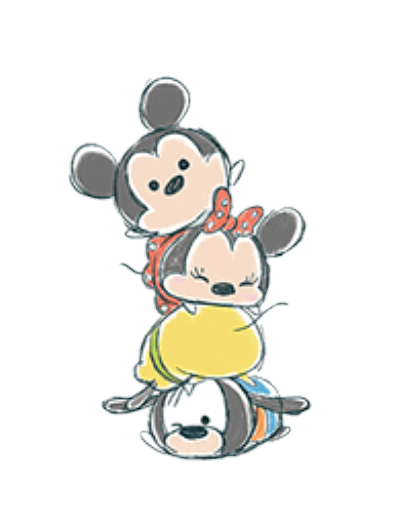 Dopey drawing cute. Of mickey minnie pluto