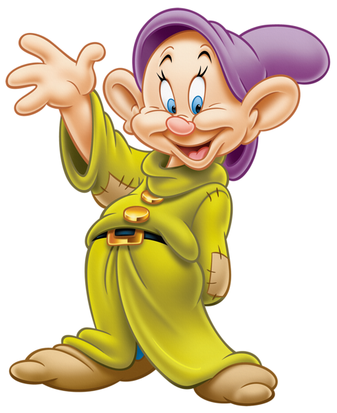 Dopey drawing easy. Transparent png clipart decupage