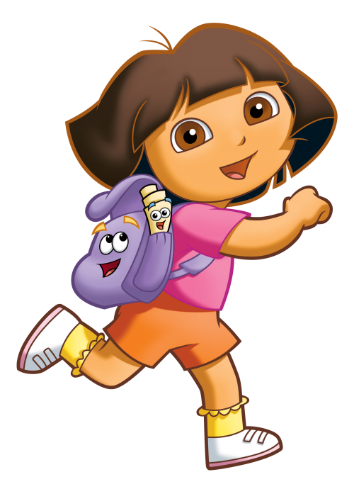 Dora transparent background. Vector png image technology