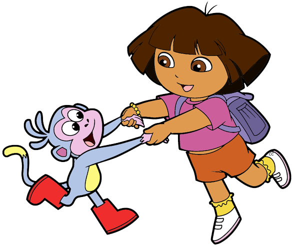 Dora transparent buji. The explorer clip art