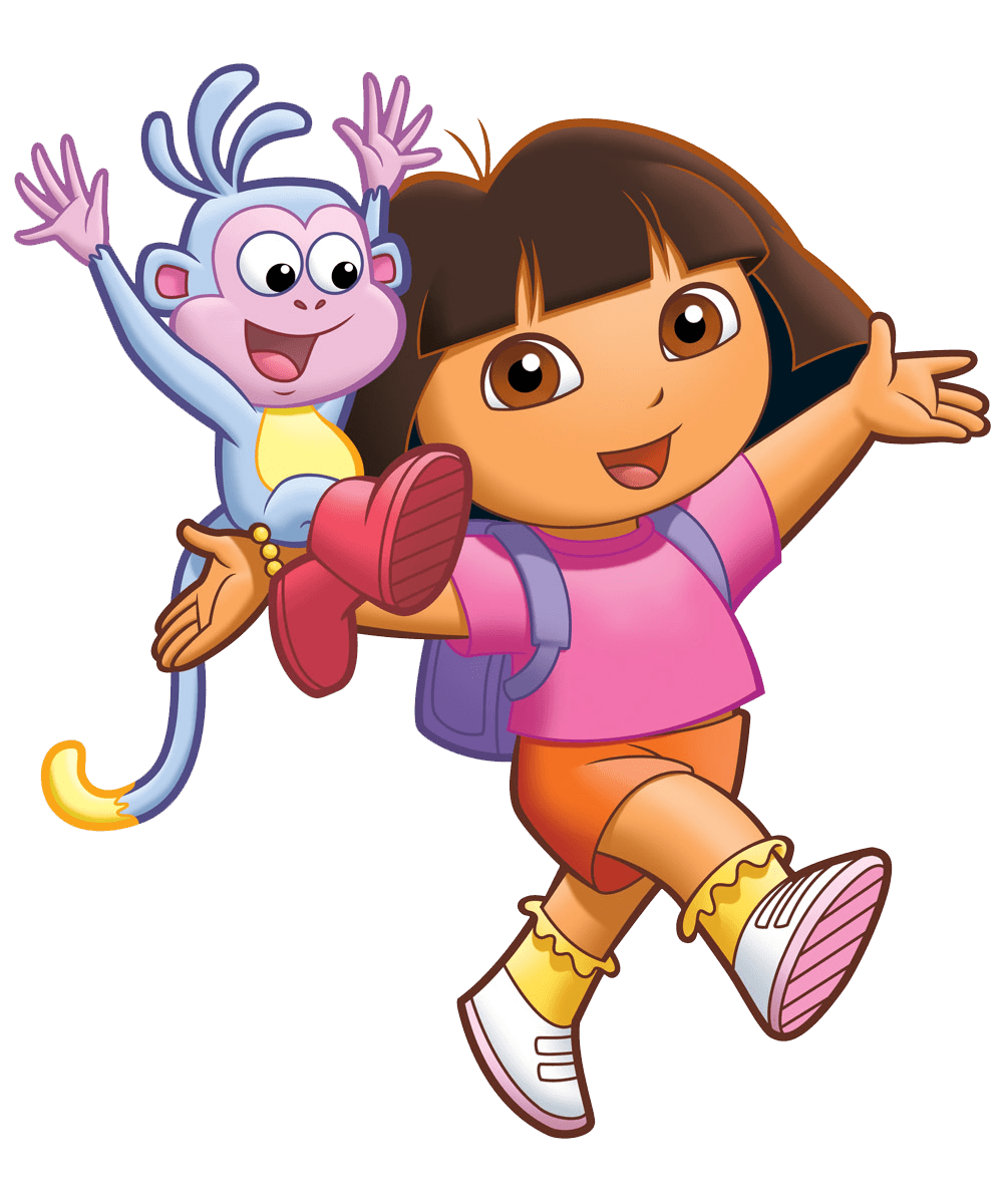 Dora transparent. Cartoon png stickpng