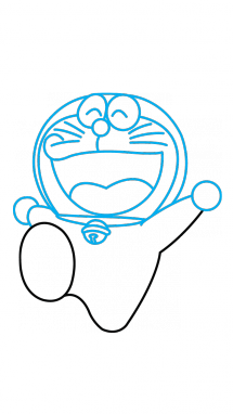 How to draw a. Doraemon drawing png royalty free stock