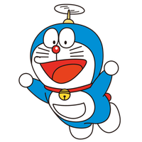 Doraemon drawing cowboy. Download free png photo