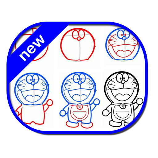 Download how to draw. Drawing paint doraemon vector free download