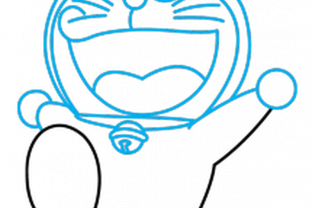 Images for with colour. Doraemon drawing easy clip stock