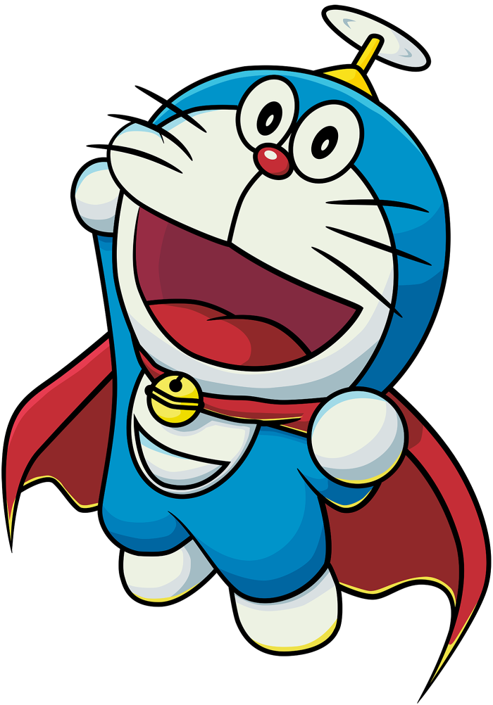 Doraemon drawing flying. Super png by jinsuke