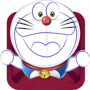 Doraemon drawing lukis. How to draw apl
