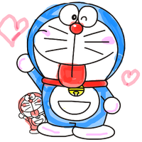 Doraemon drawing pc paint. Download free png photo