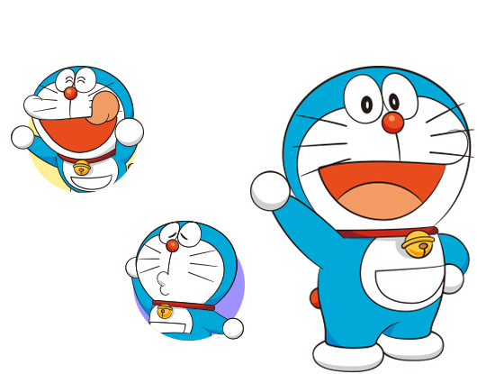 doraemon drawing face