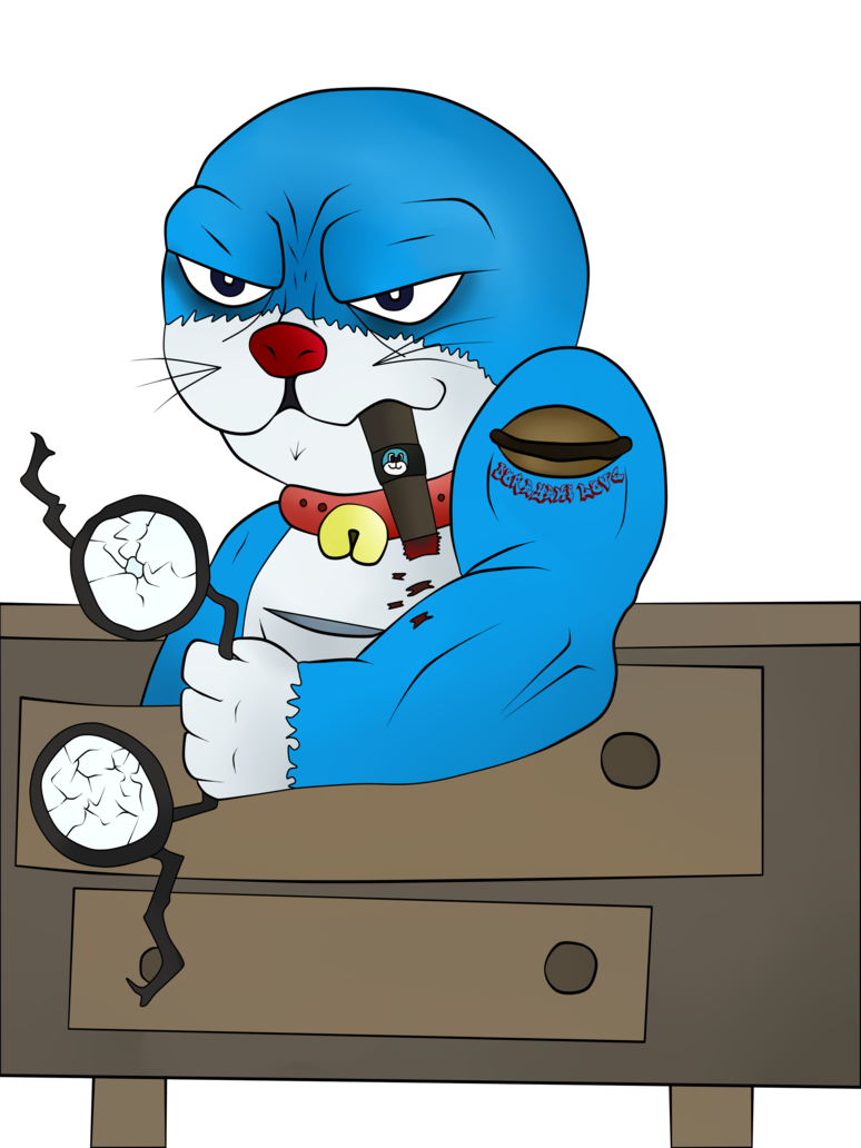 Doraemon transparent bad. Badass by mrsmile on