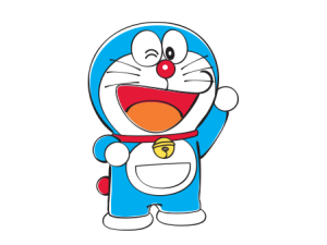 Doraemon transparent cast. Expansion sets official collectoons