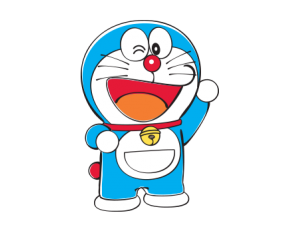 Doraemon transparent helicopter. Cartoon characters