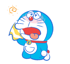 Doraemon transparent moving. S summer vacation new