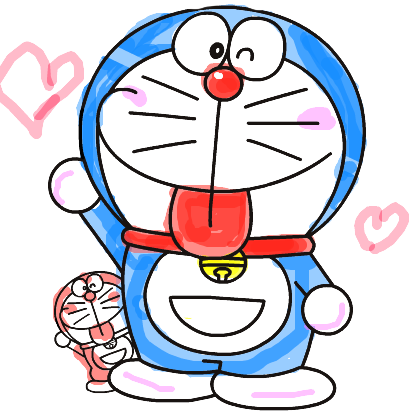 Doraemon transparent white background. Png images free download
