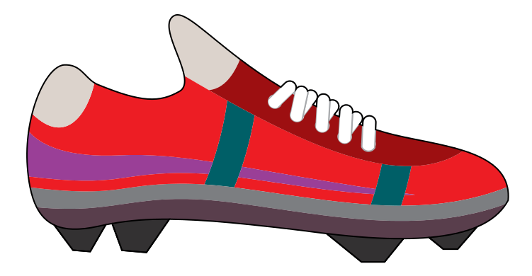 Soccerball drawing soccer cleat. Free clouds download clip