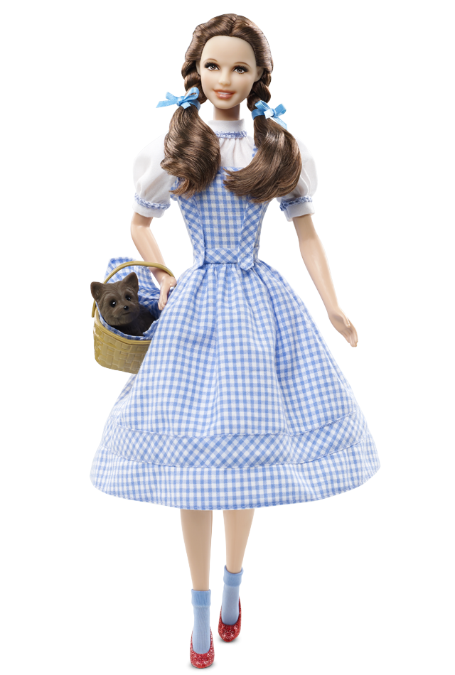 Dorothy wizard of oz png. The barbie collection