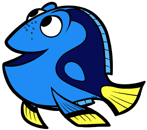 Finding clip art disney. Dory clipart blue fish free download
