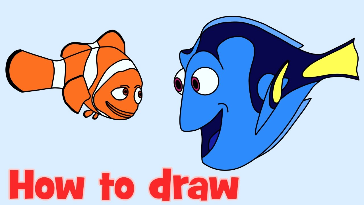 Nemo clipart fishl. Finding dory at getdrawings