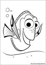 Dory clipart black and white. Best finding images on