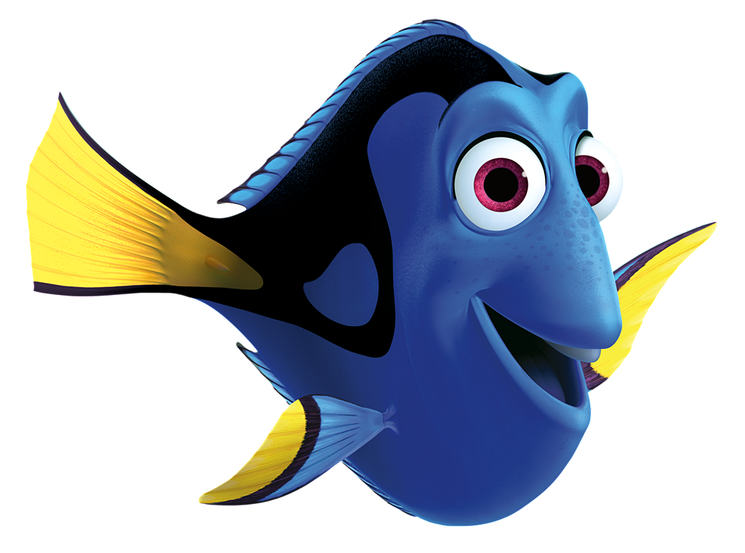 Dory clipart black and white. Finding nemo silhouette at
