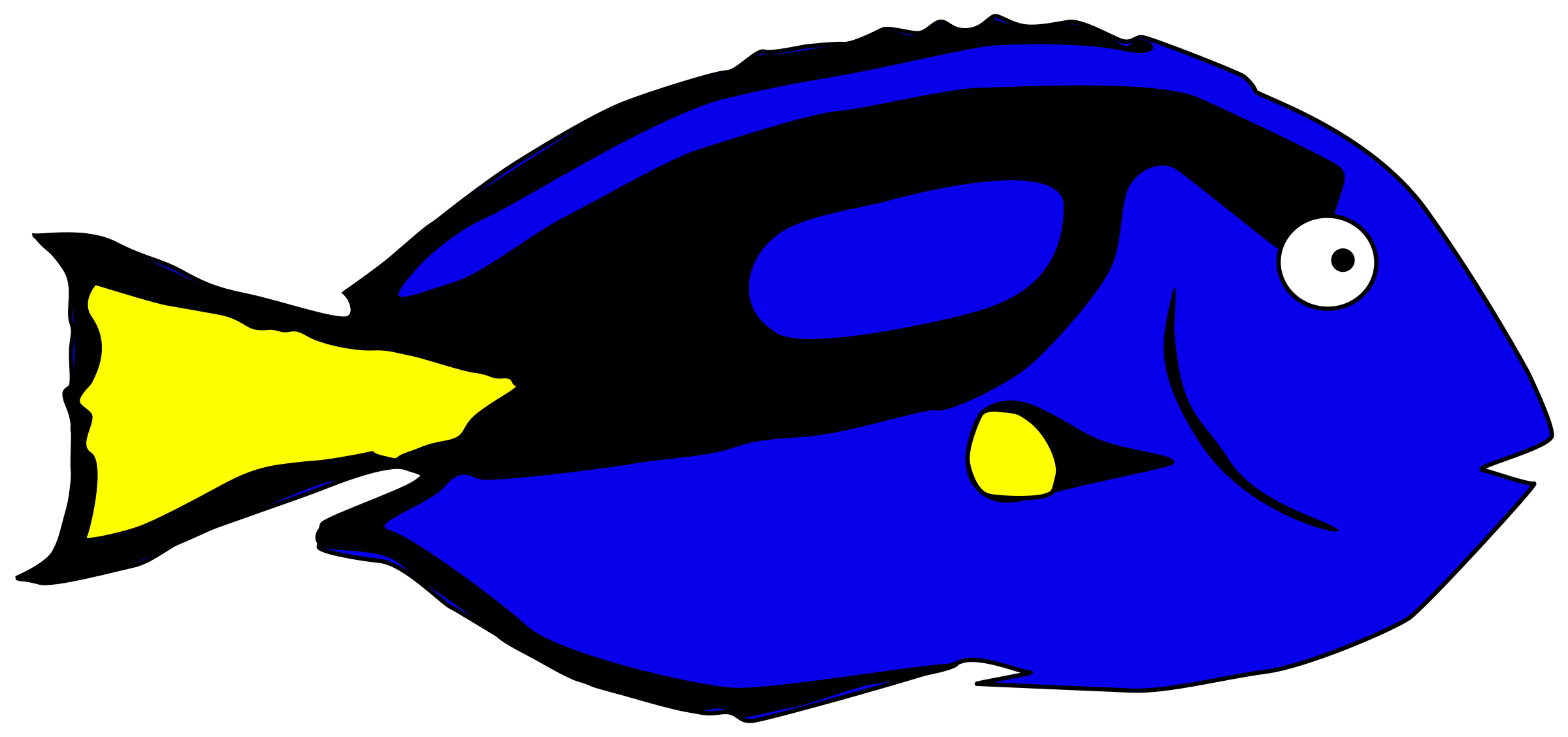 It s otherwise known. Dory clipart blue fish vector freeuse stock