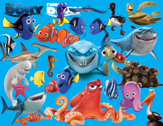Dory clipart blue fish. Finding digital images transparent