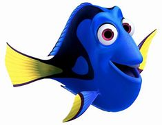 Dory clipart blue fish. Finding transparent png clip
