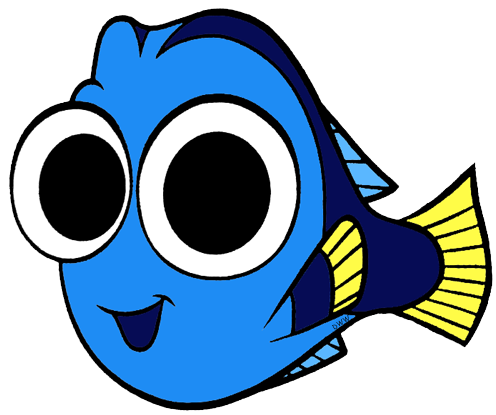 drawing dory animated baby