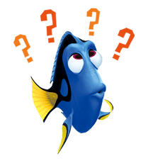 Dory png stickers. Finding nemo sticker new
