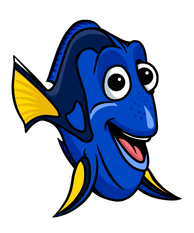 Dory finding nemo png. Fish cartoon picture clipart