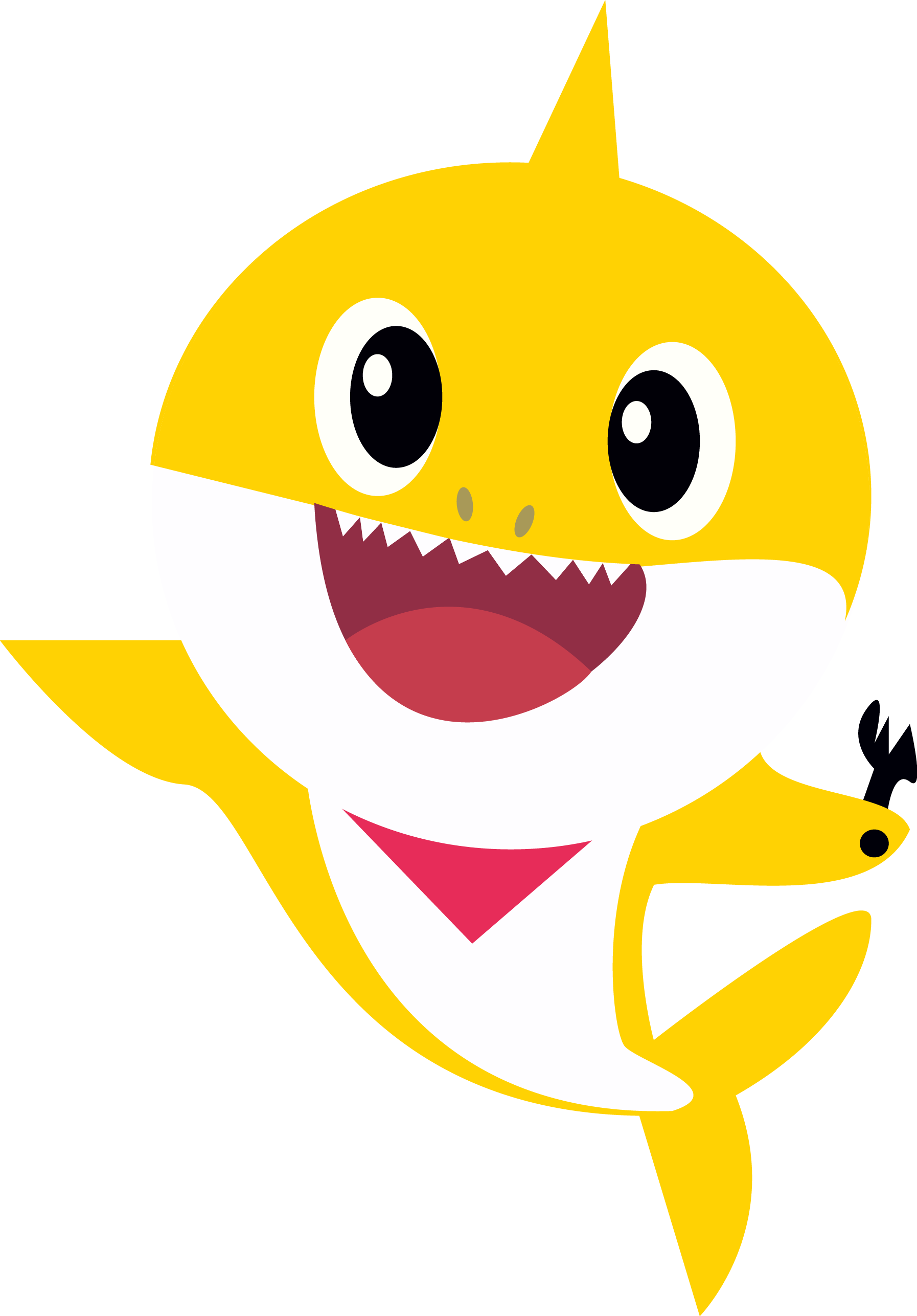 baby shark png transparent