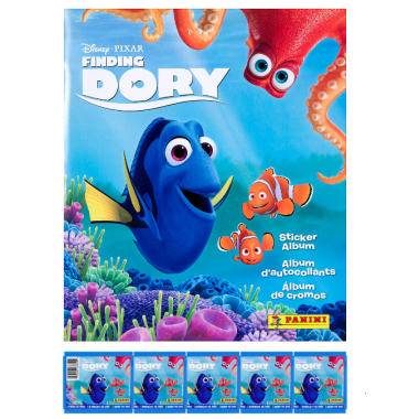 Dory png stickers. Finding album and packets